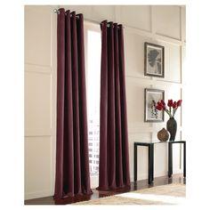 Curtainworks Messina Lined Curtain Panel - Purple (144)
