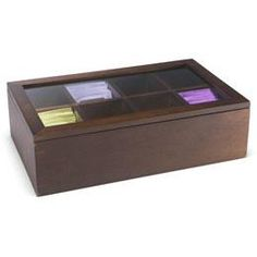 The Container Store > Gourmet Tea Storage Box
