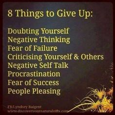 #Truth..  Never let any of these drown you, overcome it with your positive mindset