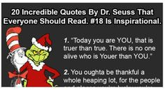 Inspirational quotes by Dr. Seuss