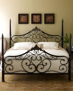 """Guinevere"" Bed - Horchow"