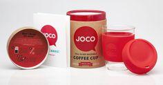 JOCO glass cups that care - Jimmy Gleeson Design