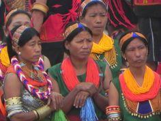 Konyak Naga women, Nagaland, India