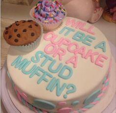 Gender Reveal Cake Inspiration