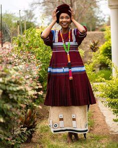 Pedi Traditional Attire, Sepedi Traditional Dresses, African Traditional Wedding Dress, Traditional African Clothing, African Print Fashion, African Fashion Dresses, African Prints, African Wear, African Dress