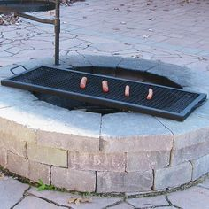 Free 2-day shipping. Buy Sunnydaze X Marks Heavy-duty Steel Rectangle Fire Pit Cooking Grill - 36-inch at Walmart.com Fire Pit Grate, Wood Fire Pit, Diy Fire Pit, Fire Pit Backyard, Fire Pits, Fire Pit Bench, Fire Pit Cooking Grill, Campfire Grill, Cooking On The Grill