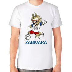 T-shirt FIFA world cup Russia 2018 - soccer - football - Zabivaka | eBay