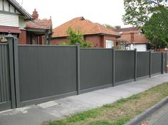Decoration, Ripples Corrugated Metal Fence Decoration: How To Design Corrugated Metal Fence
