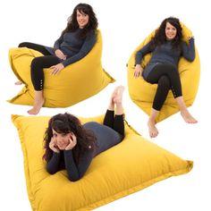 Geant-Pouf-poire-10-2cm-1-Coussin-De-Sol-Fauteuil-lit-Chaise-longue-pouf-Enfants