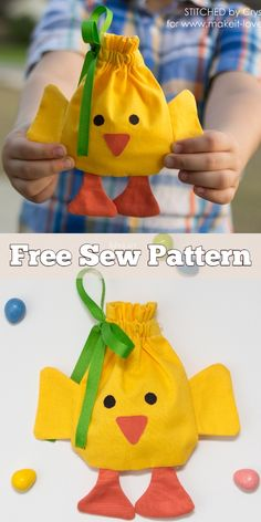 4 diy easter drawstring treat bag free sewing patterns fabric art diy super diy gifts for boys teenagers easter baskets ideas diy Easter Projects, Easter Crafts For Kids, Diy Easter Bags, Sewing Patterns Free, Free Sewing, Easter Fabric, Ideias Diy, Treat Bags, Diy Gifts
