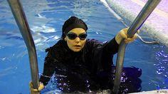 Elham Asghari..Iranian swimmer _ الهام اصغری شناگر ایرانی