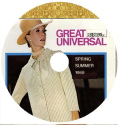 GREAT UNIVERSAL 1968 SPRING SUMMER Mail Order Catalogue ON DVD Cathy McGowan | eBay