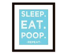 Sleep Eat Poop