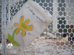 eco bolsa pintada à mão