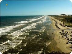 Praia de Fora, em Torres (RS), Brasil.