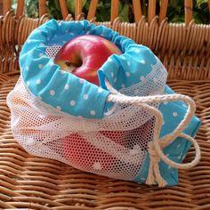 Sieťové vrecko na ovocie a zeleninu  #zerowaste