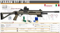 Fabbrica Bresciana Armi S.p.A. - STF 12 FDE Tactical Shotgun, Tactical Gear, Military Weapons, Weapons Guns, Shotguns, Firearms, Custom Guns, Shooting Range, Weapon Concept Art
