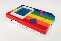 Official game console of /r/ainbow AKA the most fabulous Game Boy ever - Imgur