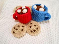 Cozy Mug of Hot Chocolate - Crochet creation by CharleeAnn