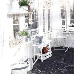 kesähuone, puutarha, vanhat ikkunat, kasvihuone, kesä, garden, greenhouse