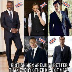 British Men!