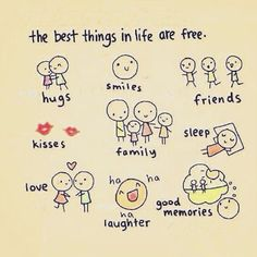 the best things in life are free meaning