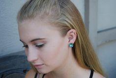Seashell Earrings Seashell Mermaid Earrings by ornatetreasures