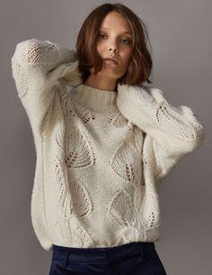 massimodutti описание пуловера бесплатно