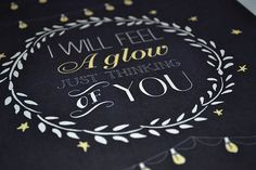 Frank Sinatra quote Wedding Print Chalkboard by firstsnowfall, $35.00