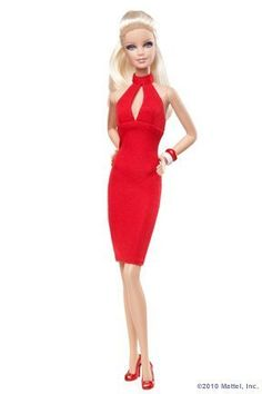 """Barbie Basics """"Red"""" Collection Model #1"""
