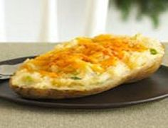 Weight Watchers Points Plus-Twice Baked Potatoes Recipe