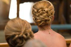 wedding hair, prom, bridal updo, curls