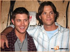 Jensen Ackles and Jared Padalecki | when you re walking onto the set of the cw s spookfest supernatural ...