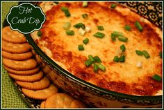 Sweet Tea and Cornbread: Hot Crab Dip!