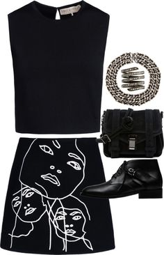 """""""Untitled #9408"""" by theleatherlook on Polyvore"""