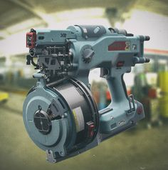 ArtStation - Electric screwdriver gun, Vitaliy Ishkov