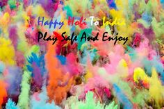 Holi Wishes to all.