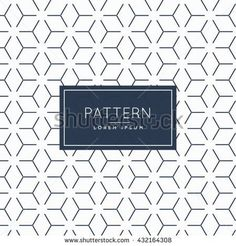 abstract minimal pattern background - stock vector