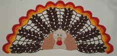 Pattern for Crocheted Thanksgiving Turkey