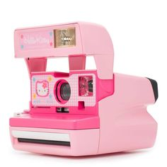 The Polaroid 600 Hello Kitty instant camera is one of the rarest cameras going around. Hello Kitty House, Hello Kitty Items, Barbie Png, Baby Doll Accessories, Polaroid Camera, Hello Kitty Collection, Instant Camera, Everything Pink, Vintage Cameras