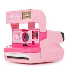 Polaroid 600 Camera - Hello Kitty