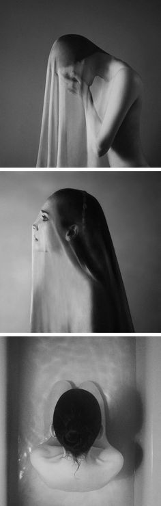 #photography - Self Portraits by Noell S. Oszvald --- every one of my baths