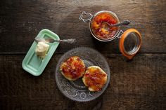 Rose Hip Jam and Homemade English Muffins — BREAD + BARROW