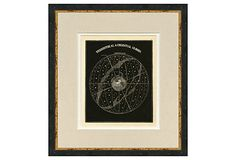 Celestial Globe Print I by Map Antiquities