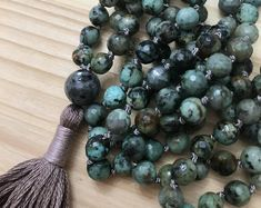 Mala Beads, Mala, Mala Necklace, Tassel Necklace, Yoga, Meditation, Gemstone Necklace, Prayer Beads, Meditation Beads