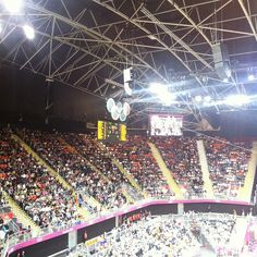 cathyv's photo  of London 2012 Basketball Arena on Instagram