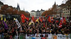 """""""Widerstand"""" gegen Erdogan: Tausende Kurden demonstrieren in Köln"""
