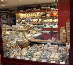 Cheese shop on Mache du Rue Cler - Paris, France; more inspirations