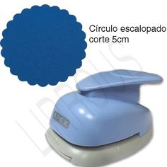 Furador Scrapbook Círculo Escalopado 5cm Mint To Be - R$ 44,90