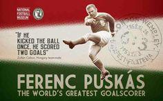 Ferenc Puskas of Hungary wallpaper.